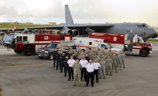 Andersen Air Force Base, Guam - The 36th Civil Engineering Squadron Fire and