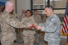 62nd Engineer Detachment deployment ceremony.