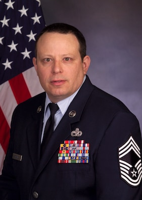 Chief Master Sgt. Brian McDaniel, 734th Air Mobility Squadron Superintendant(U.S. Air Force courtsey photo/Released)