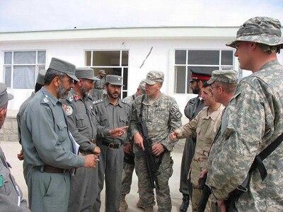 Afghan National Police Graduate New Leaders > National ...