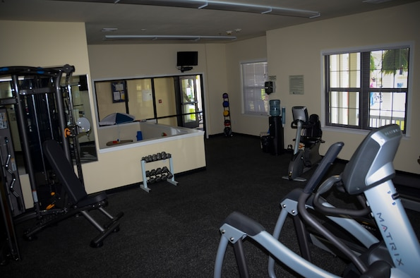An image of home gym set up - Verdure Wellness