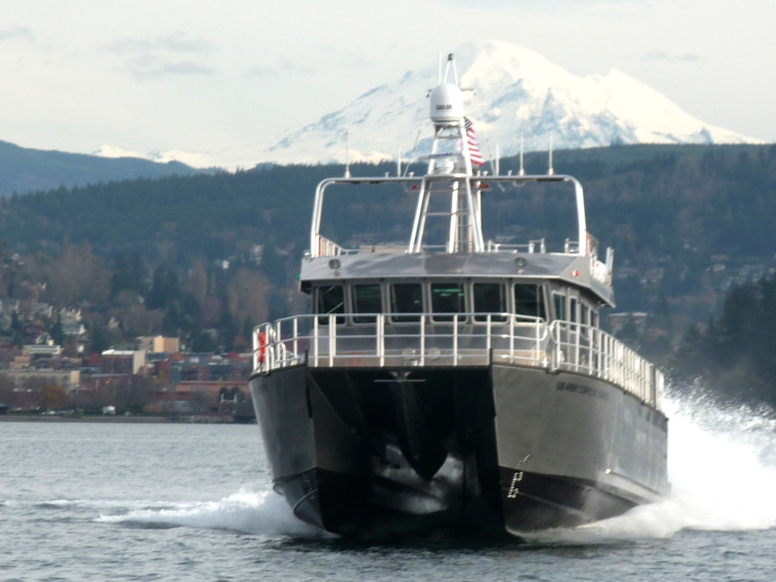 The Marine Design Center recently completed and accepted the aluminum catamaran survey vessel FLORIDA II built by All American Marine of Bellingham, Washington for Jacksonville District.