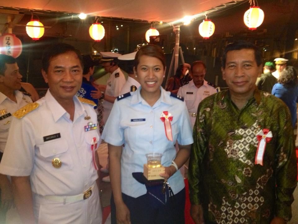Indonesian-born Airman inspires youth, women in Jakarta