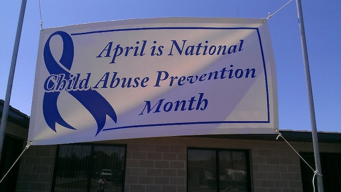 Tyndall Air Force is proud to support Child Abuse Prevention Month.(Courtesy photo)