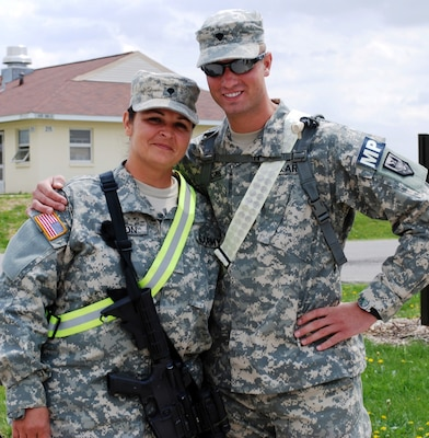 Face of Defense: Mother, Son Prepare to Deploy to Kosovo