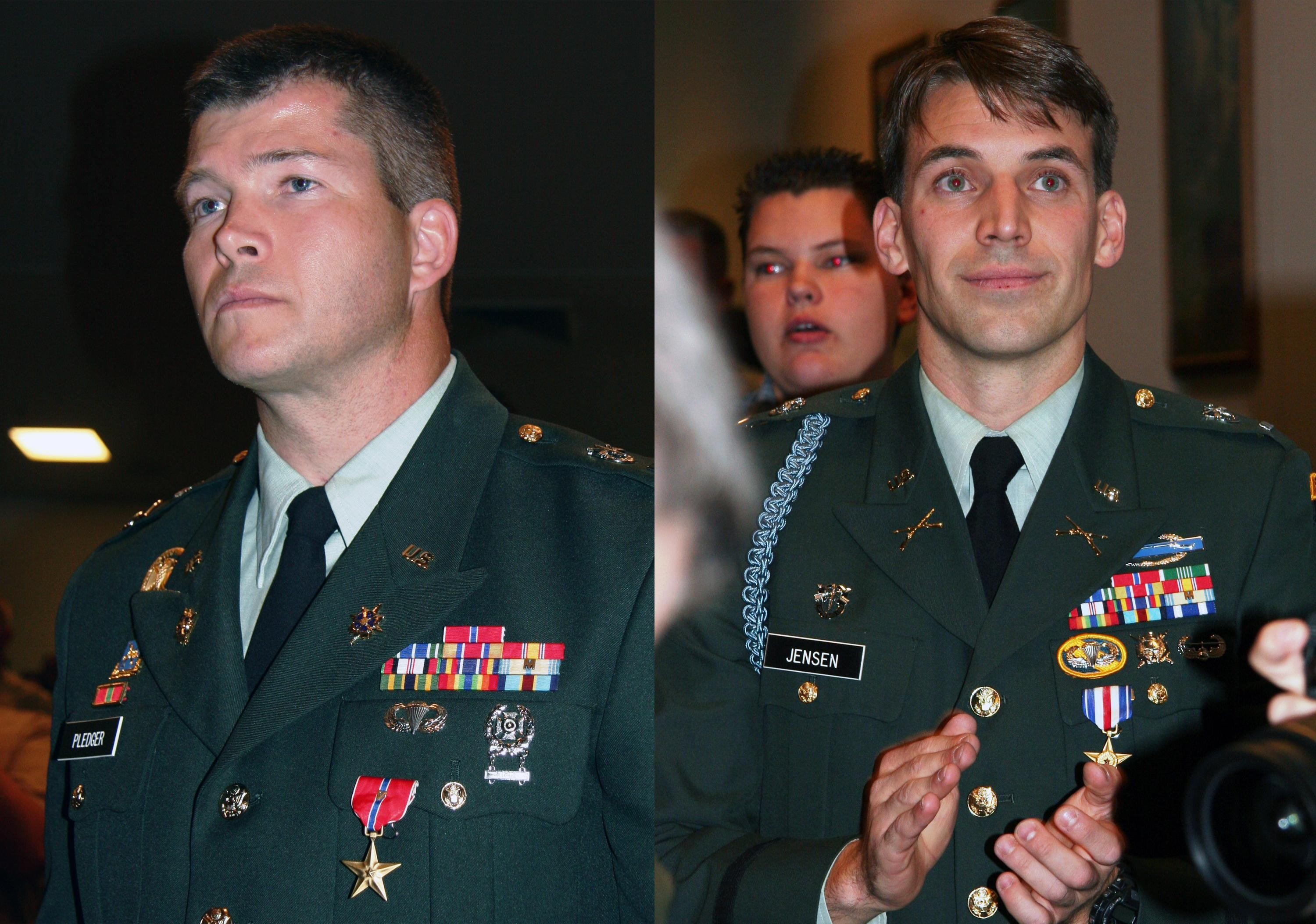 Utah Guard Soldiers Awarded Silver Bronze Stars For Valor