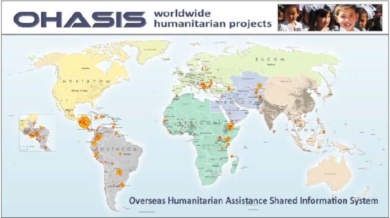 OHASIS worldwid humanitarian projects