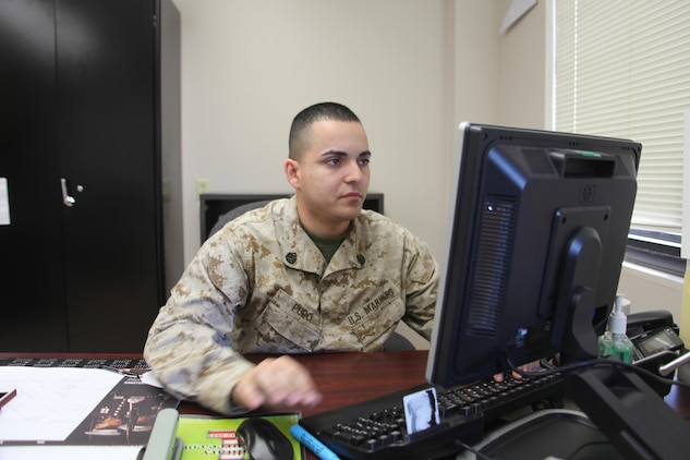 Staff Sgt. Fernando Pupo, logistics chief for Marine Aviation Logistics Squadron 31 and native of Miami, fought through and survived stage 4 lymphoma. Lymphoma is a cancer that forms in the white blood cells called lymphocytes. The cancer diminishes the immune system, growing and multiplying.