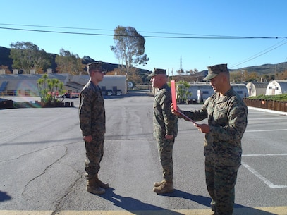 LCpl Bonilla Promotion 2 Jan 13