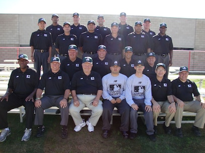 Sgt Lilley Cpl Cardoso MLB Umpire Camp 4-11 Nov 12
