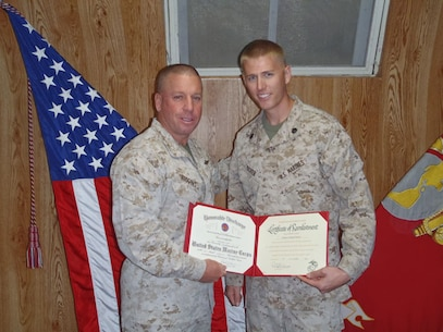 SSgt Ricker Reenlistment 10 Oct 12