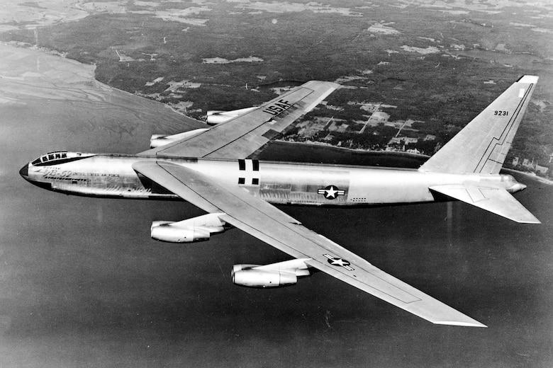 First B-52 flight