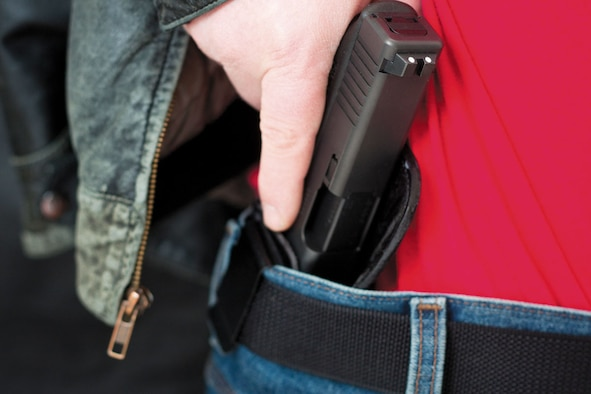 There have been several incidents of negligent discharge on JBER in recent months. Use caution with firearms and remember basic safety practices – never point a weapon at something you don't intend to shoot, treat every gun as if it were loaded, and always store them in a safe place away from children. (Courtesy photo)