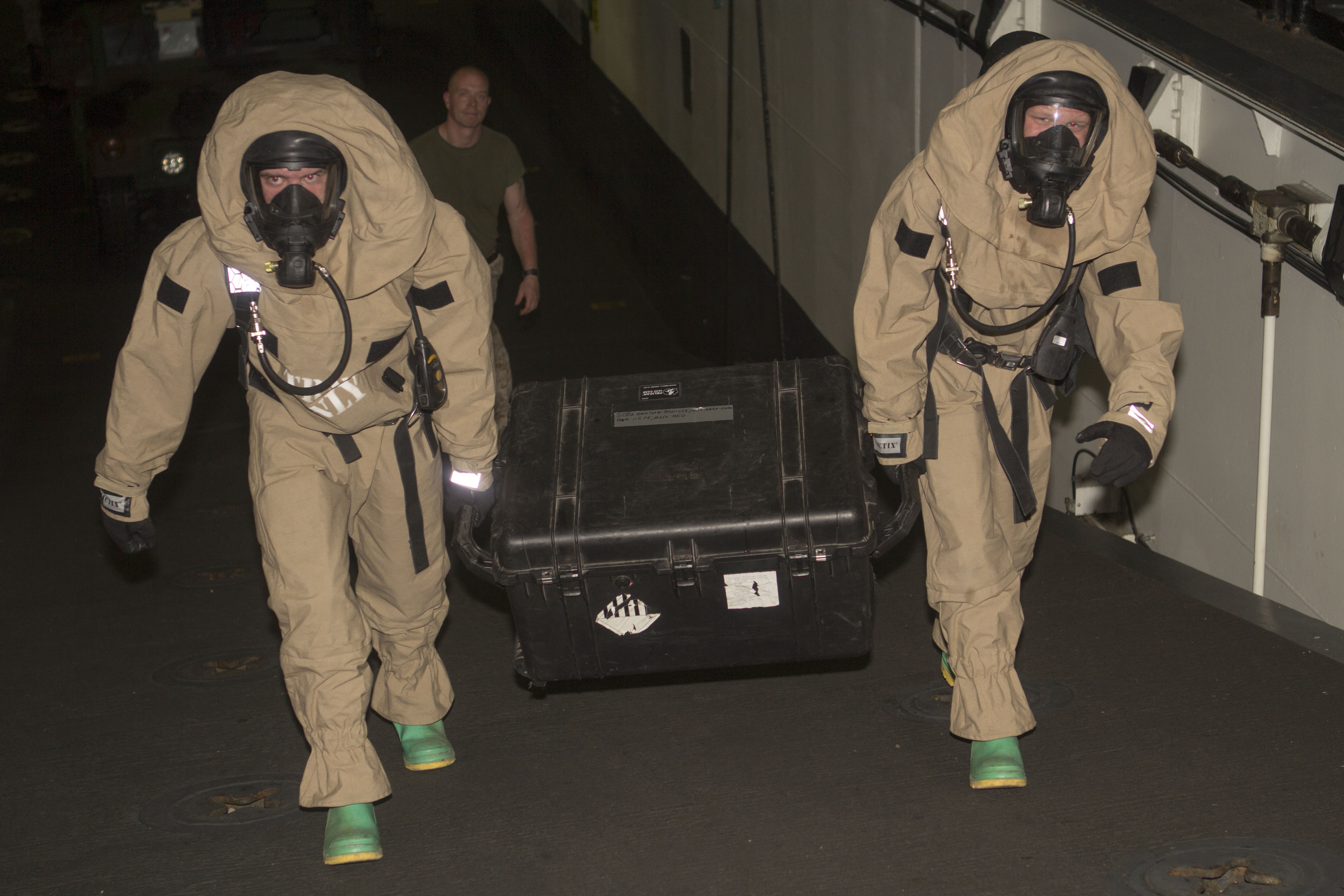 CBRN suits up > 26th Marine Expeditionary Unit > News