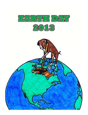 The Louisville District Environmental Branch hosted an Earth Day Contest for Visual Art and Poetry. This graphic by Todd Davis was an honorable mention for the visual art category.