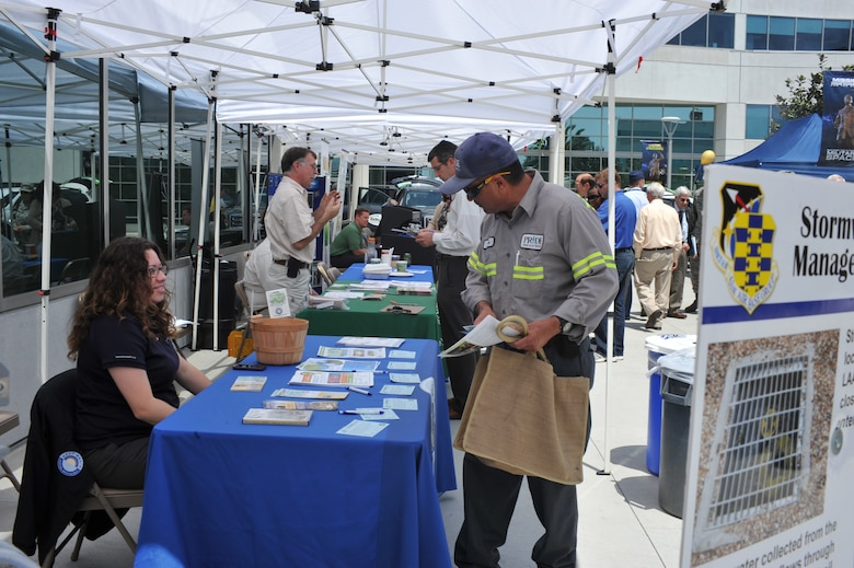 Los Angeles Air Force Base celebrates this year's Earth Day April 23.