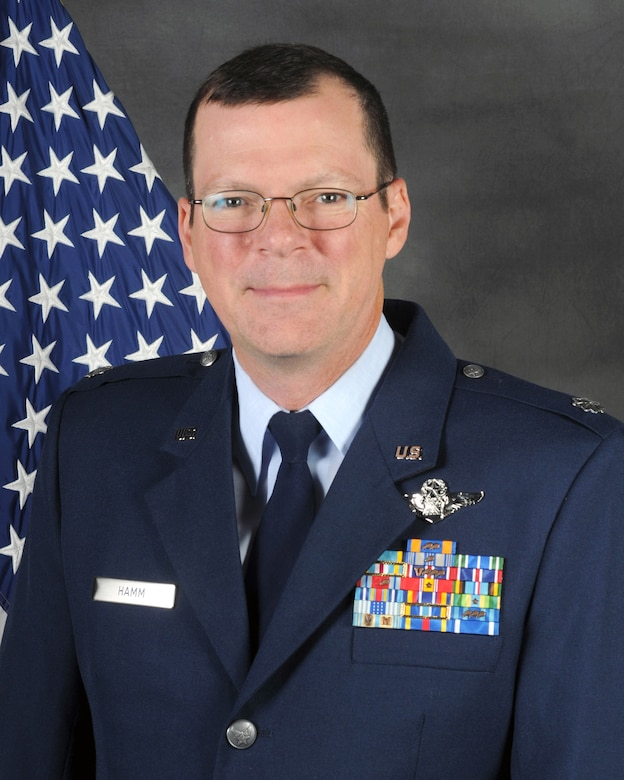 Lt. Col. Robert Hamm will assume the role of commander of the Kentucky Air National Guard's 123rd Operations Group, effective June 22, 2013. Hamm has served as vice commander of the 123rd Airlift Wing since September 2012. (U.S. Air National Guard photo by Master Sgt. Phil Speck)
