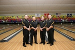 U.S. Army Men take their fourth consecutive bowling title at the 2013 Armed Forces Bowling Championship at MCB Camp Lejeune, NC.  MSG Daniel Lew, USAR-Dublin, CA takes overall gold and MSG Thomas Wynne, USAG Weisbaden, Germany takes silver
