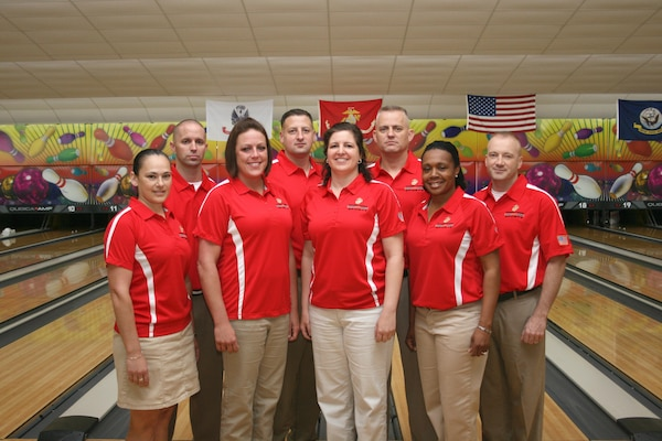 The All Marine Bowling team competes at the 2013 Armed Forces Bowling CHampionship hosted at MCB Camp Lejeune, NC 22-27 April.