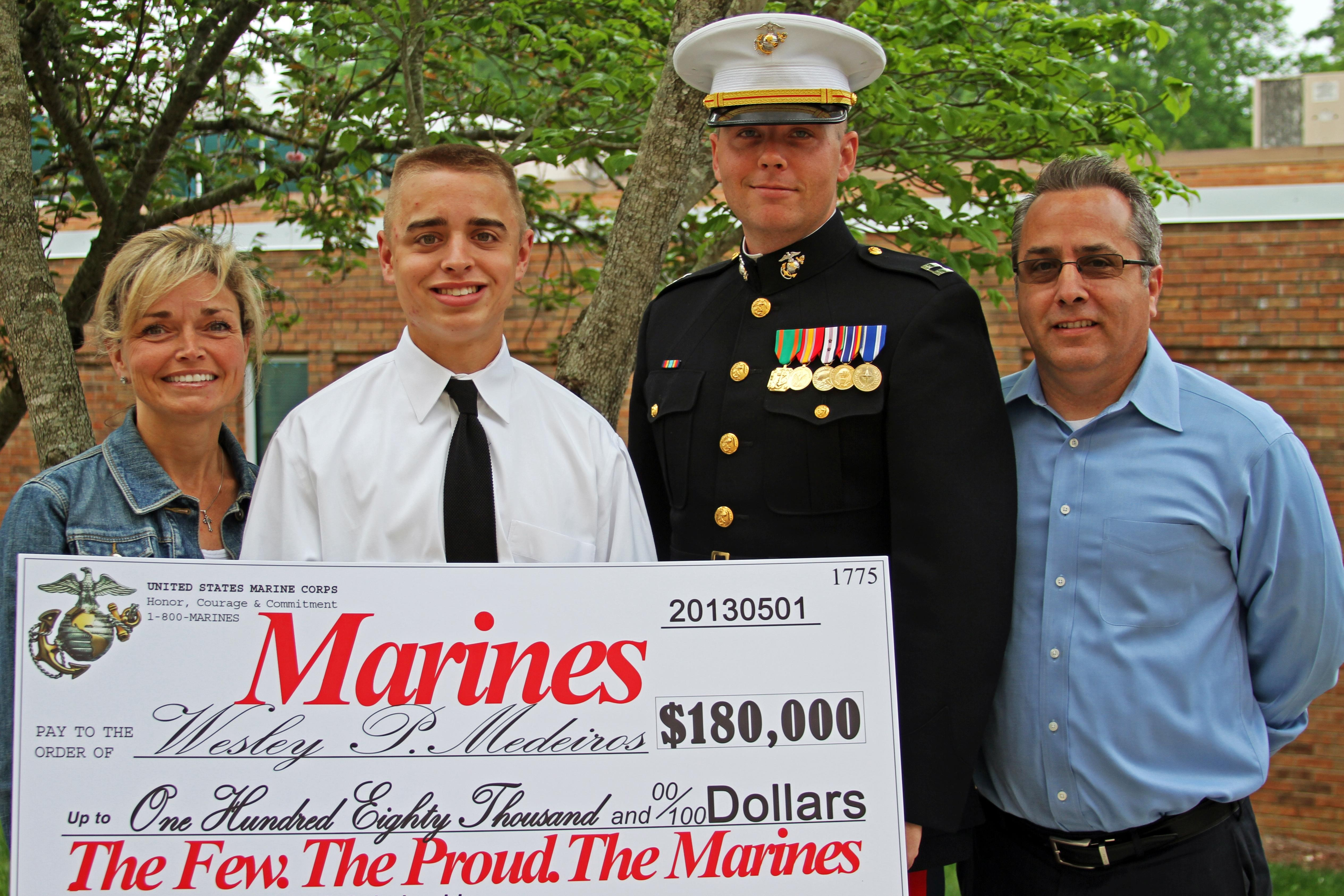 nrotc marine option scholarship essay