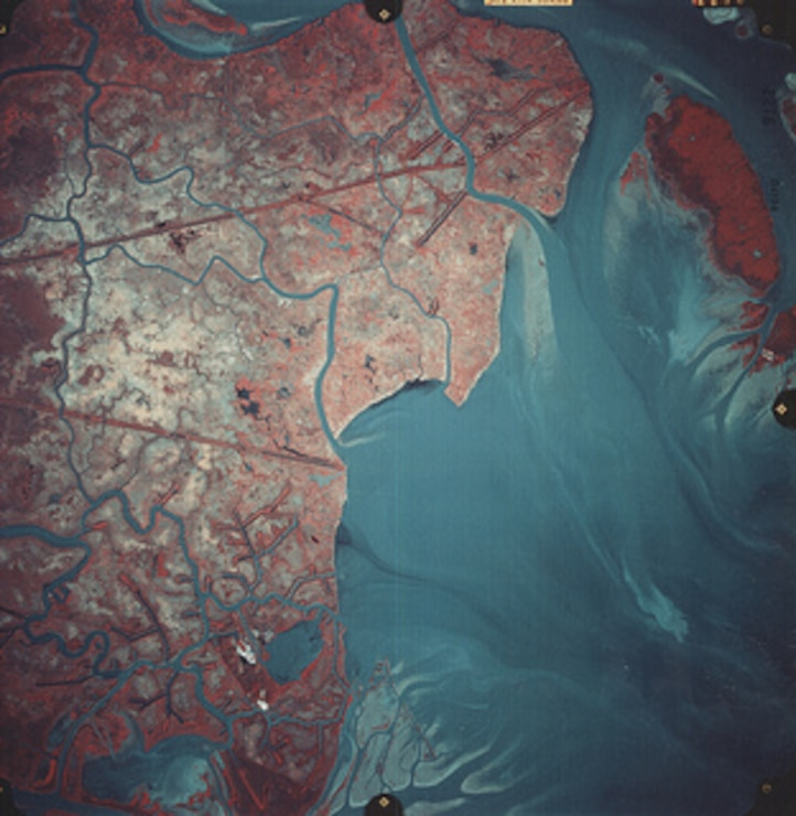Atchafalaya Upper Bay 1990
