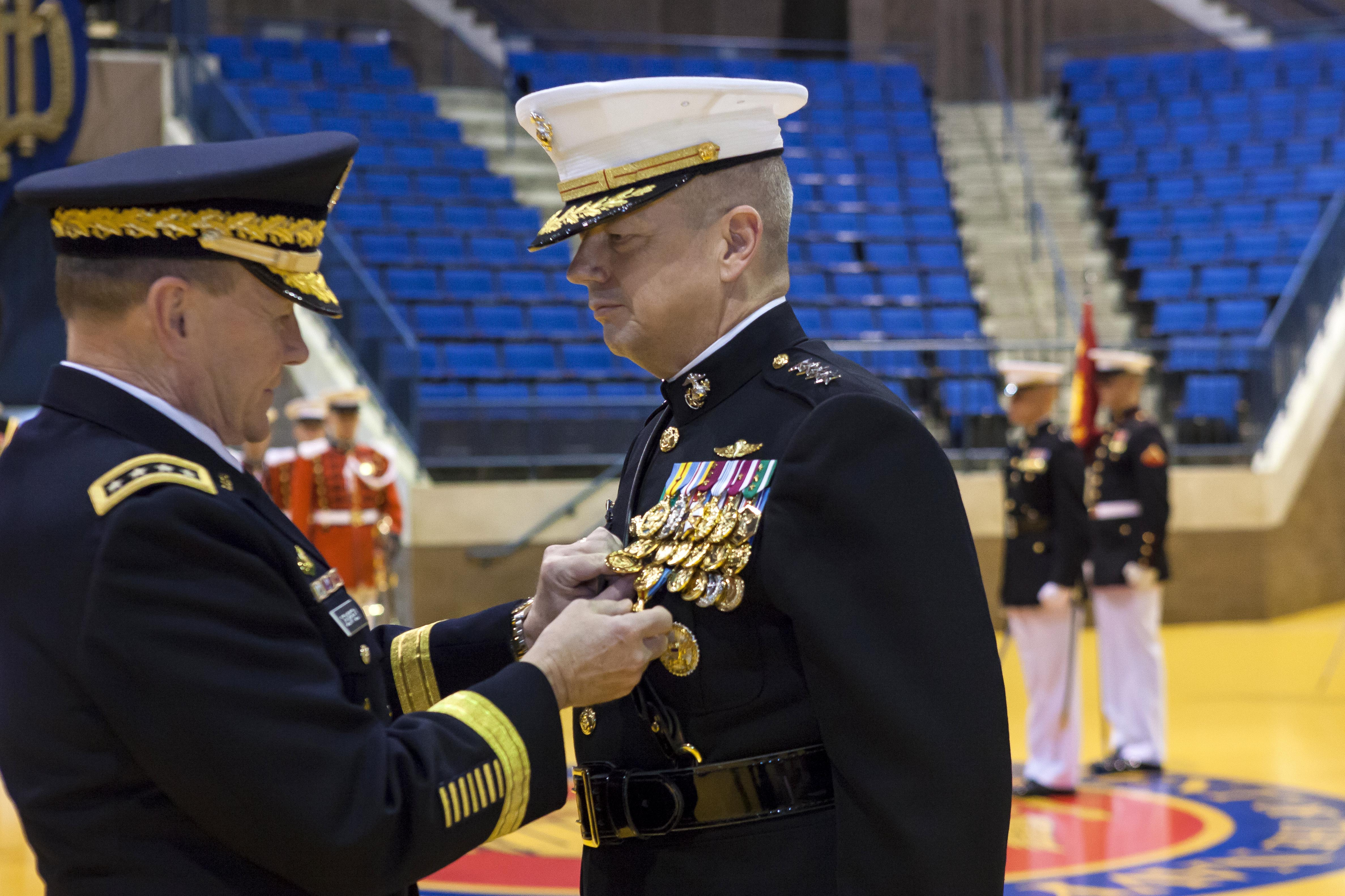 Army Gen  Martin E  Dempsey, chairman of the Joint Chiefs of