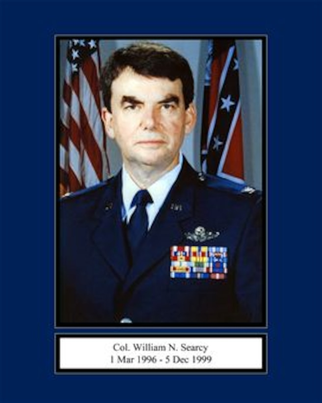 Portrait of Col. William N. Searcy 165th Airlift Wing Commander 1 Mar 1996 - 5 Dec 1999