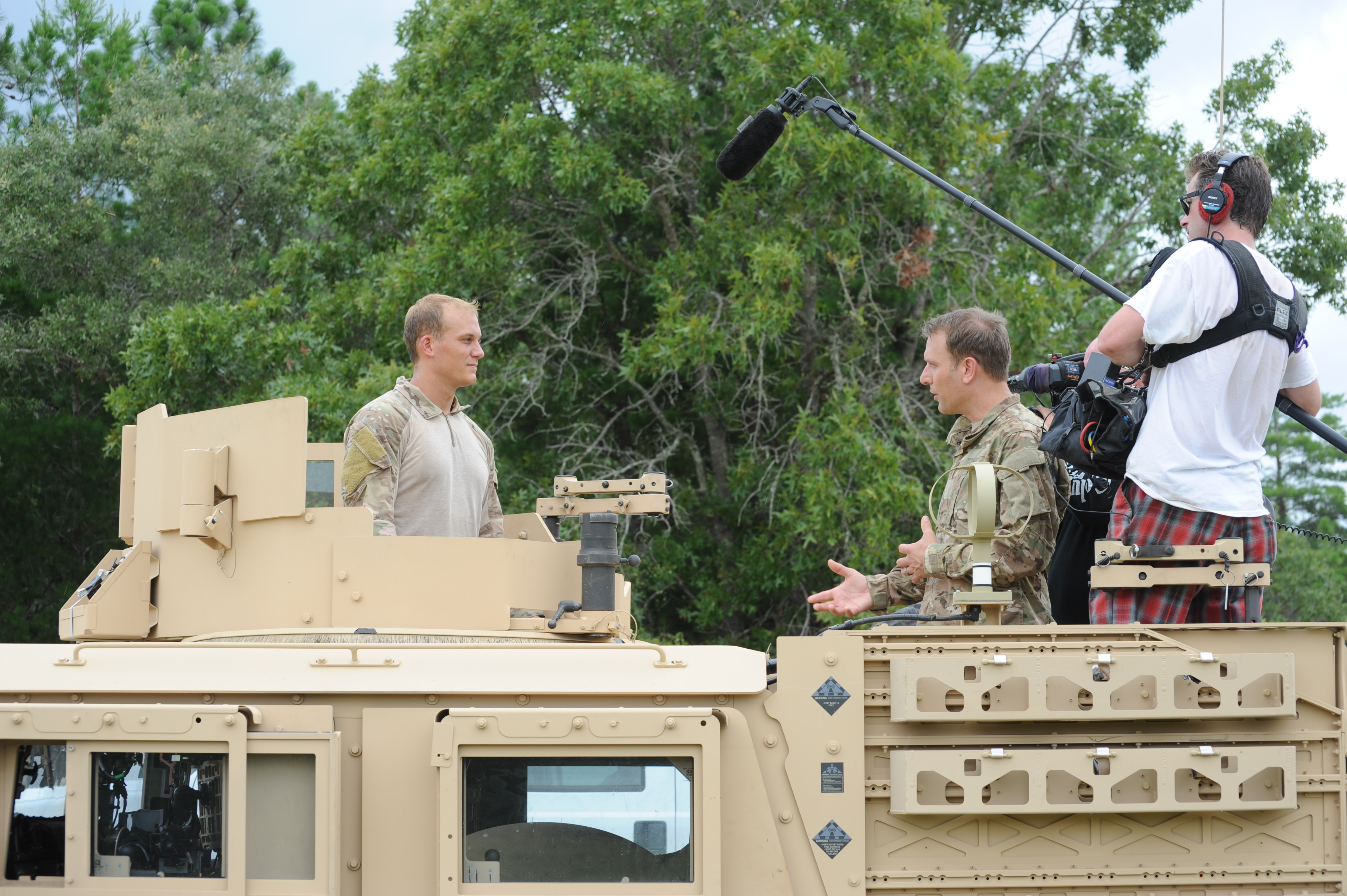 The Weather Channel films SOWT training exercise > Air Force