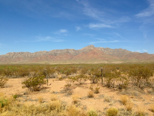 The Louisville District partnered with the USACE Huntsville Center to conduct a survey of the Castner Range at Fort Bliss, Texas.