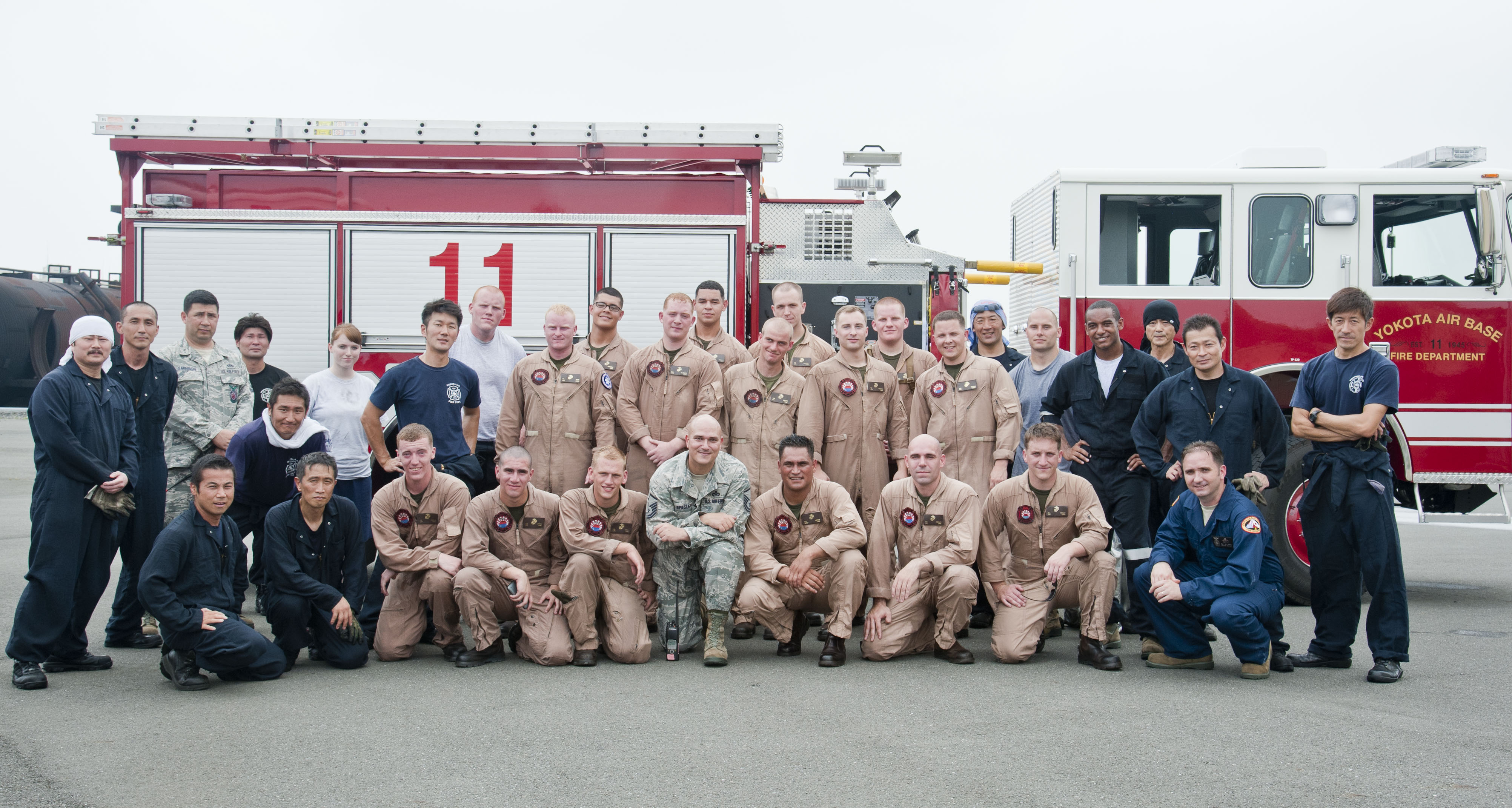 marine corps air station iwakuni firefighters photo details download hi res