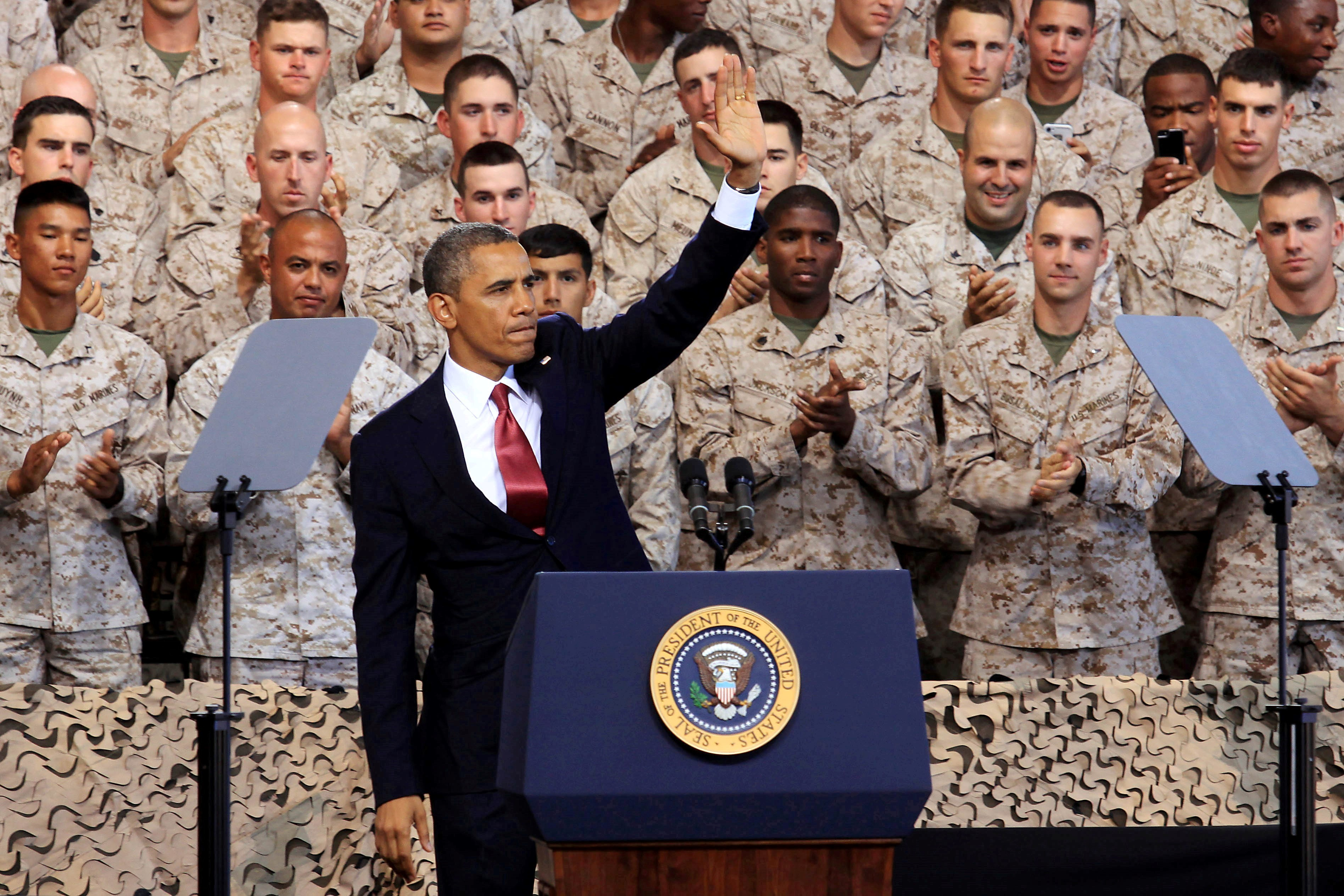 Commander in Chief visits Camp Pendleton > Marine Corps ...
