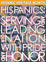 The Hispanic Heritage Month Observance will be from 11:45 a.m. to 1 p.m. Sept. 18 at Riley's Conference Center. A food sampling will be provided. The event is free and open to the public.  (poster courtesy of DEOMI – Defense Equal Opportunity Management Institute)