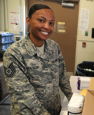 Medical Logistics Technician Step Promoted To E-6 > Vance Air