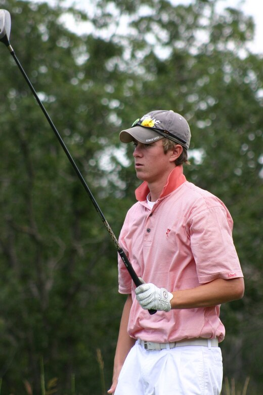 Alex Kephart, contracting specialist with 10th Contracting Squadron, played golf for the University of Colorado at Colorado Springs. He will compete in the 2013 U.S. Amateur Championship Aug. 12. (U.S. Air Force/Courtesy Photo)
