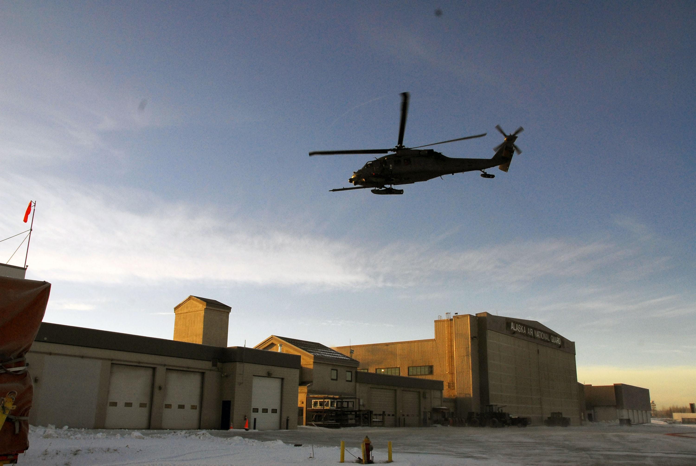 Alaska National Guardsmen Rescue Plane Crash Victims In Patton Bay Crashed Aircraft Beacon