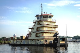 The M/V GEORGE C. GRUGETT was built and classed in 2013 for the USACE Memphis District.