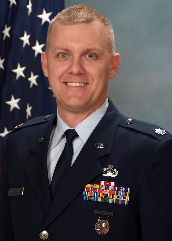 Lt. Col. Jason Nahrgang, 50th Force Support Squadron commander