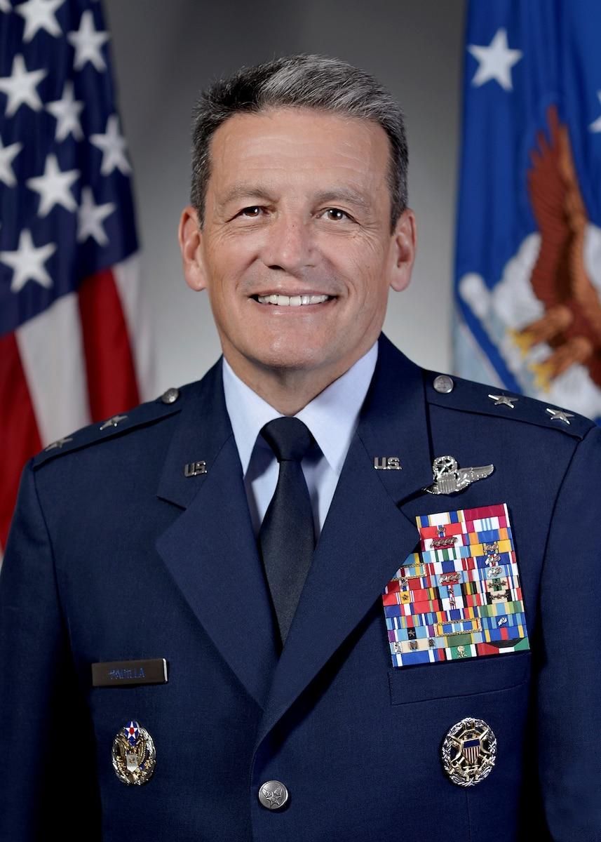 Official Photo -      Maj Gen Frank Padilla  (U.S. Air Force Photo by Michael Pausic)