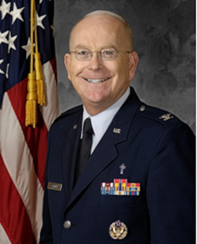 Chaplain (Col.) Robert Cannon, 60th Air Mobility Wing Chaplain