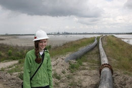 Clayton Buckaloo interned with our office for two week learning about the different roles of the Corps of Engineers and got to visit many of our project sites.