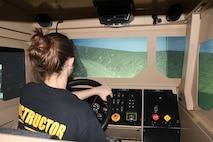 Military Spouse Motor Transport Simulation.
