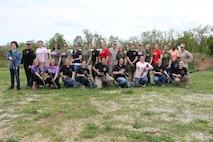 Marine Corps Detachment Fort Leonard Wood Missouri Spouses participate in Jayne Wayne Day 2013