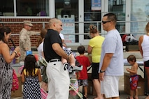 Marine Corps Detachment families gather for a day of fun.