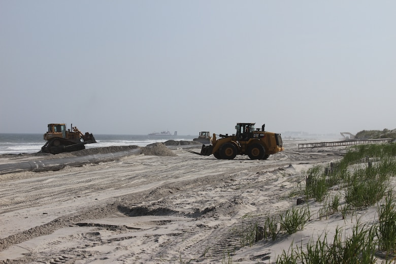 New Jersey Shore Protection, Townsends Inlet to Cape May