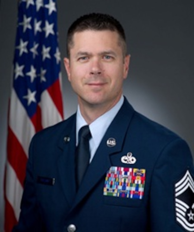 Chief Master Sgt. Troy Ballard