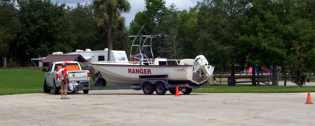 Trailering a boat, especially backing up, is a skill that requires a good deal of practice.