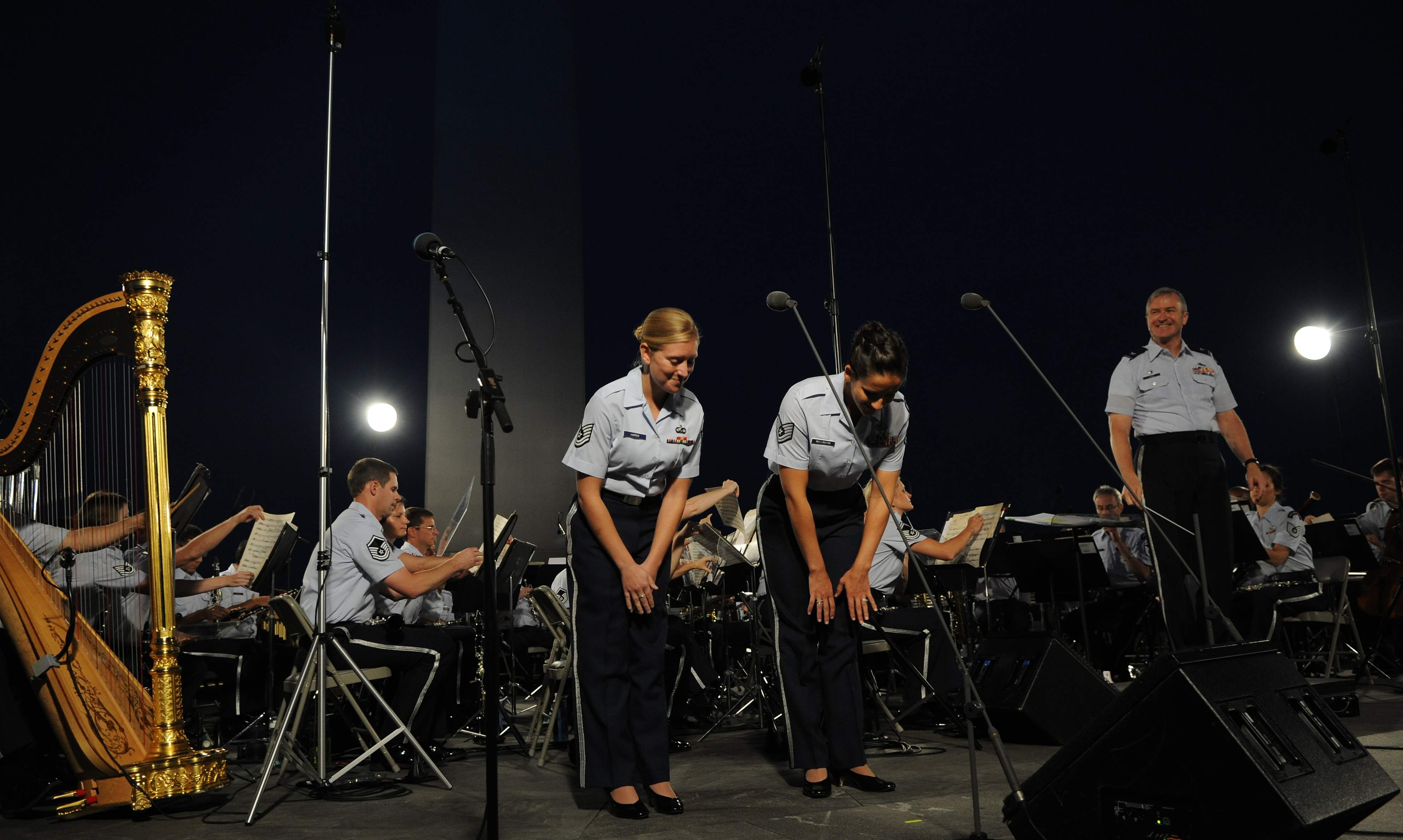 USAF Band performs