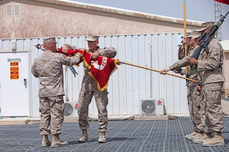 Last infantry regiment closes chapter in Helmand