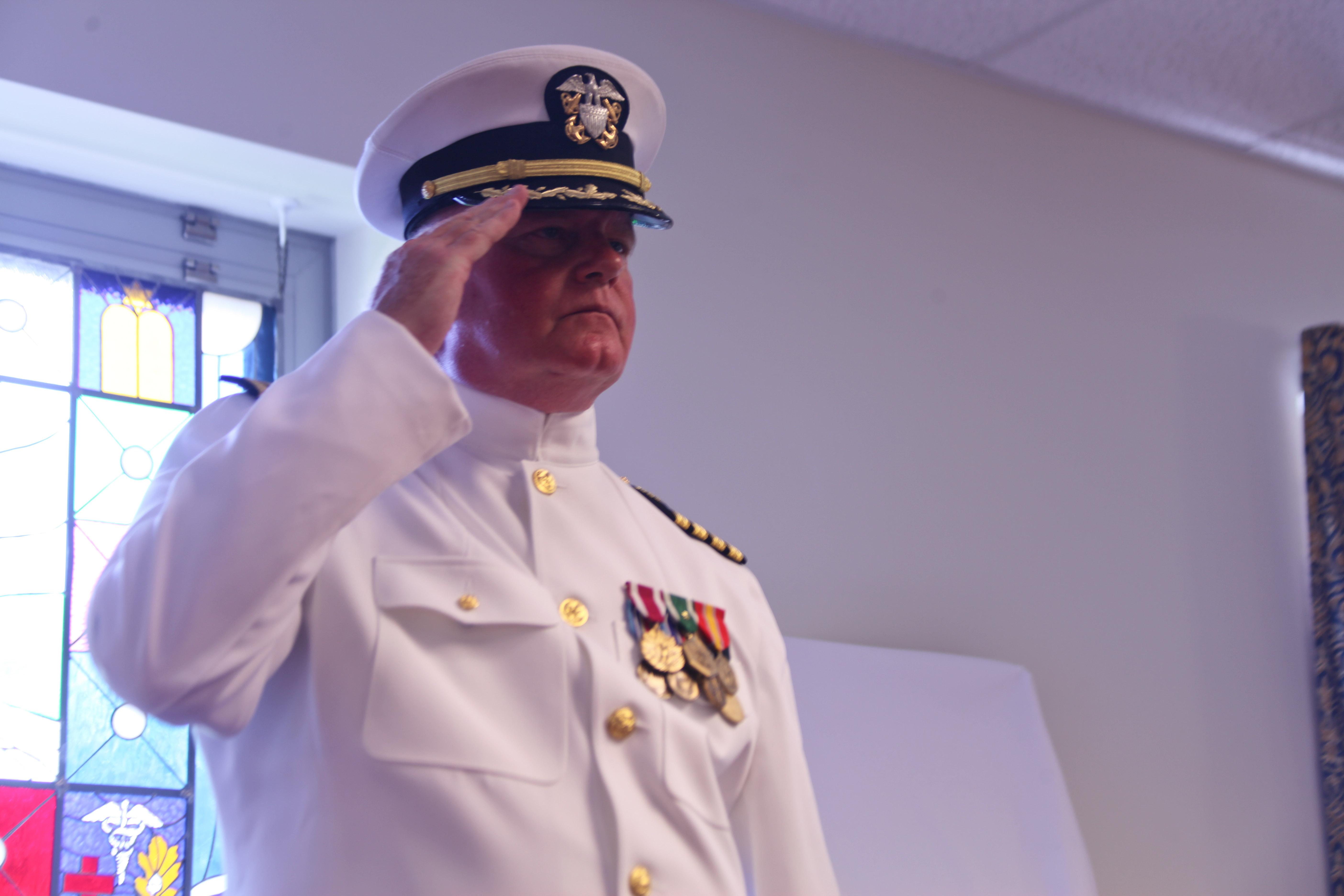 navy retirement ceremony instruction