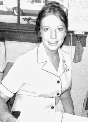 Carol Franson is a Regulatory project manager in the Eugene field office. She has worked for the Portland District for 12 years. The opportunity to travel prompted Carol Franson to join the Navy in 1970, a decade during which the military underwent many cultural changes in relation to the nation's shifting social attitudes and expectations. She served as a personnelman near the end of the Vietnam War and was at the front gate of her base recording the Admiral's interactions with protesters; saw nuclear weapons removed from the base after the war; and made the local news in San Jose, Calif., in 1976 as one of the first women who were allowed to remain in the military when she became pregnant. Toward the end of her pregnancy she had to wear civilian clothes, because the Navy did not design maternity uniforms until 1978.